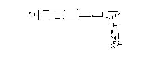 Zündleitung BREMI 6A29/51