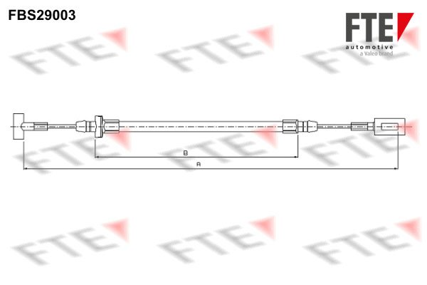Seilzug, Feststellbremse FTE FBS29003