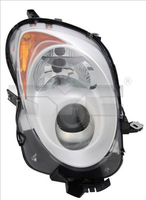 Hauptscheinwerfer links TYC 20-11754-05-2