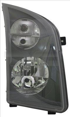 Hauptscheinwerfer rechts TYC 20-12351-15-2