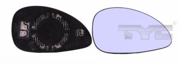 Spiegelglas, Außenspiegel links TYC 305-0120-1