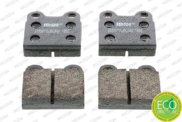 Bremsbelagsatz, Scheibenbremse FERODO FDB3M Bild 1