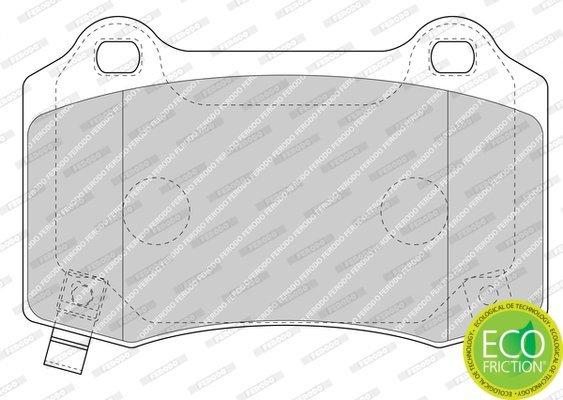 Bremsbelagsatz, Scheibenbremse FERODO FDB4777 Bild 2
