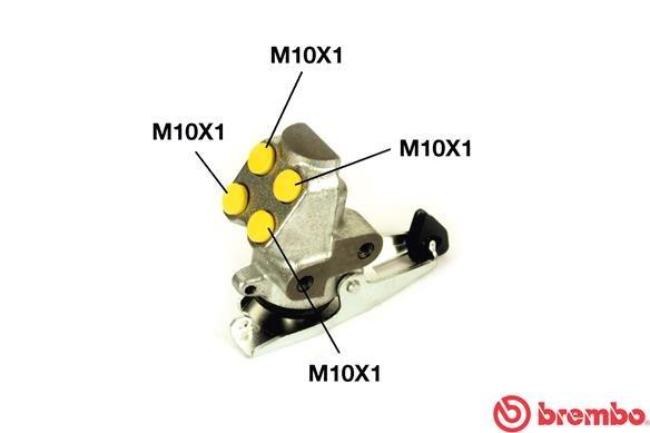 Bremskraftregler BREMBO R 85 006