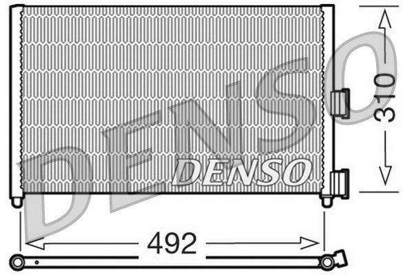 Kondensator, Klimaanlage DENSO DCN09071