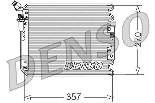 Kondensator, Klimaanlage DENSO DCN28001