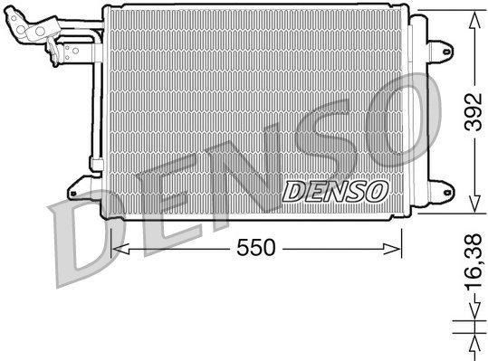 Kondensator, Klimaanlage DENSO DCN32002
