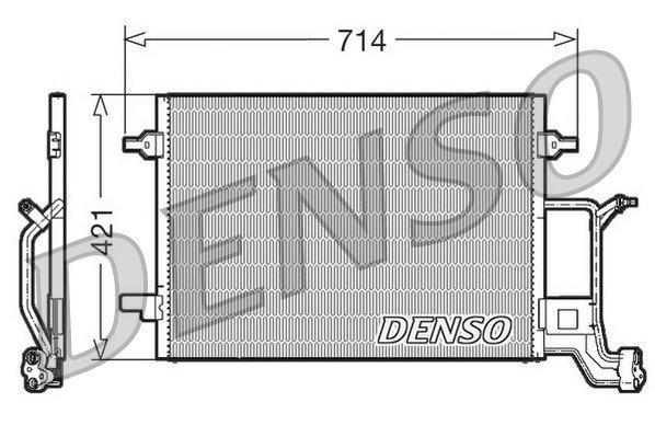 Kondensator, Klimaanlage DENSO DCN32019