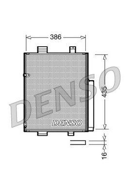 Kondensator, Klimaanlage DENSO DCN35001