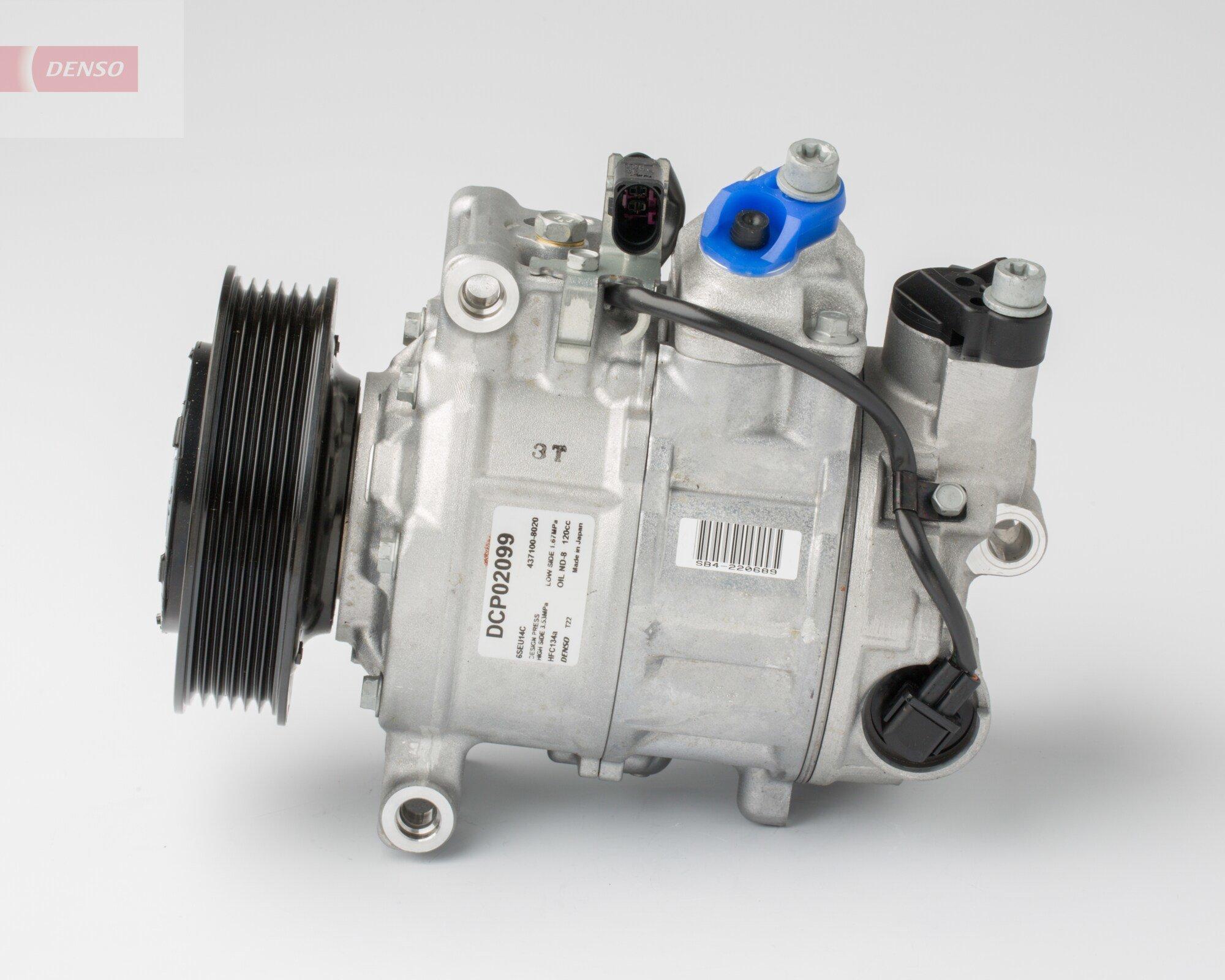 Kompressor, Klimaanlage DENSO DCP02099 Bild 2