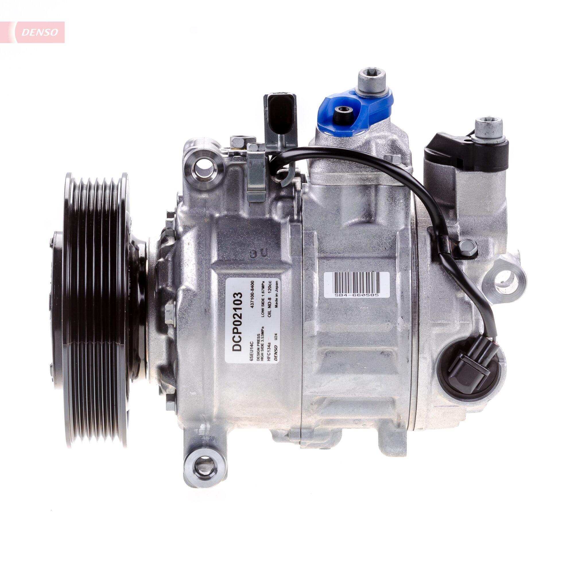Kompressor, Klimaanlage DENSO DCP02103 Bild 4