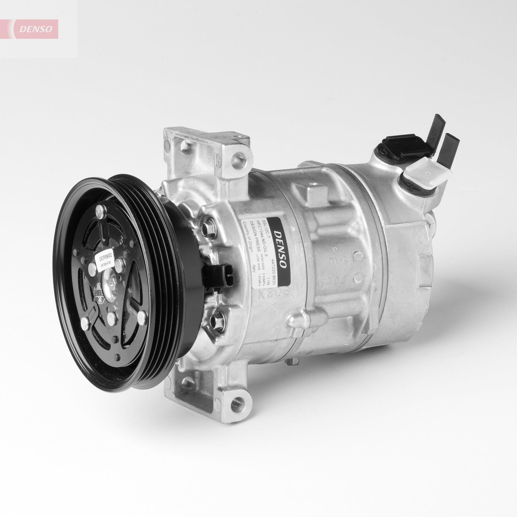 Kompressor, Klimaanlage 12 V DENSO DCP09002