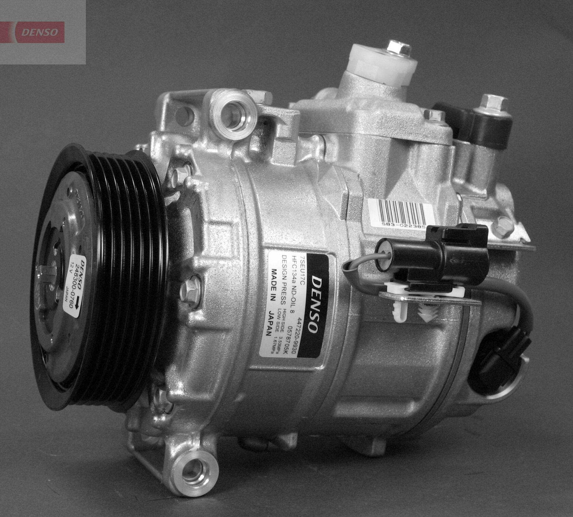 Kompressor, Klimaanlage DENSO DCP14012