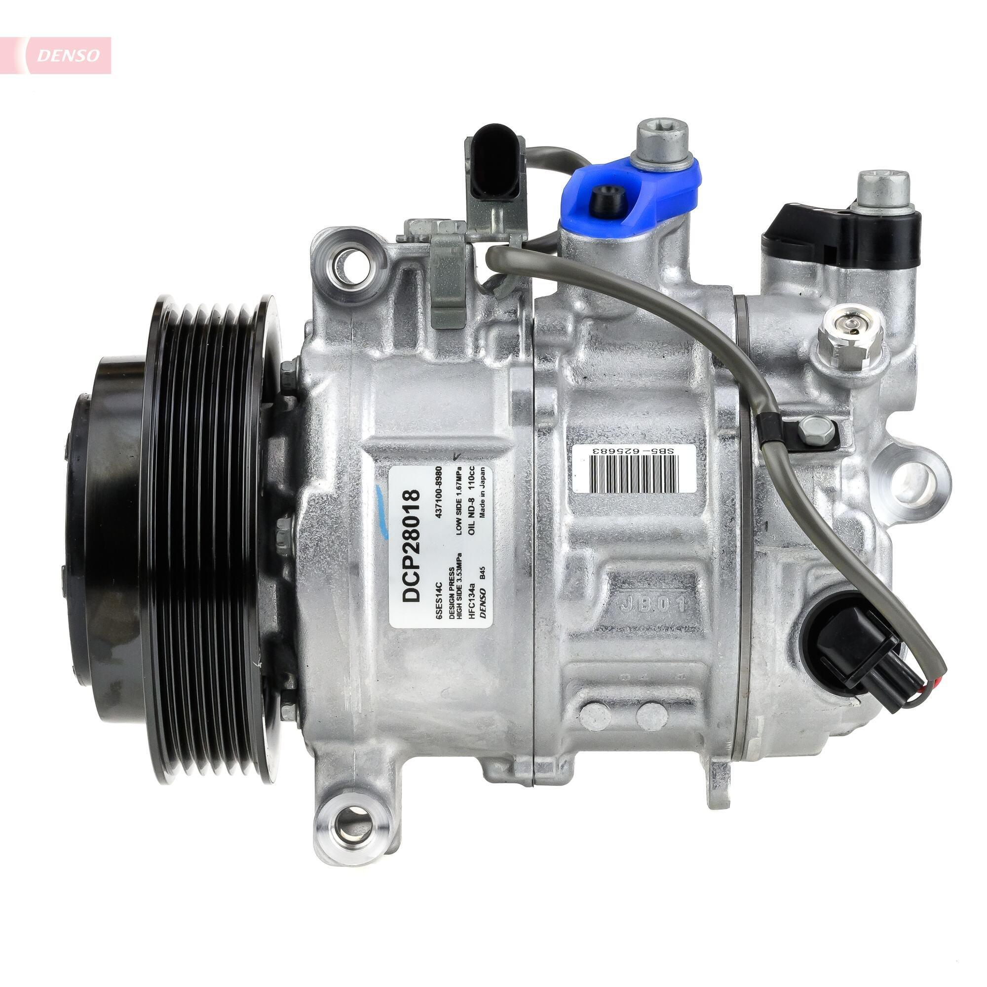 Kompressor, Klimaanlage DENSO DCP28018 Bild 4