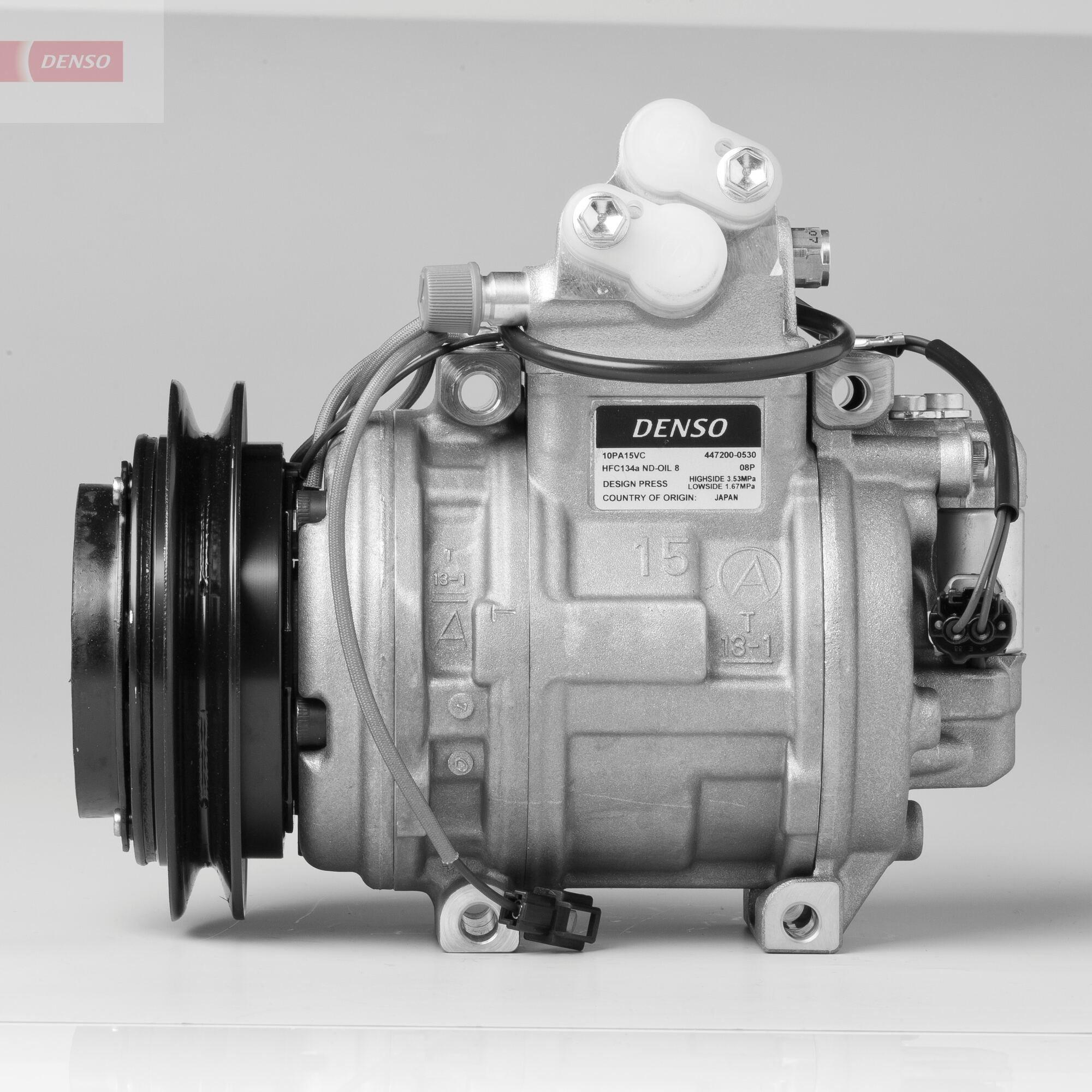 Kompressor, Klimaanlage 12 V DENSO DCP45010