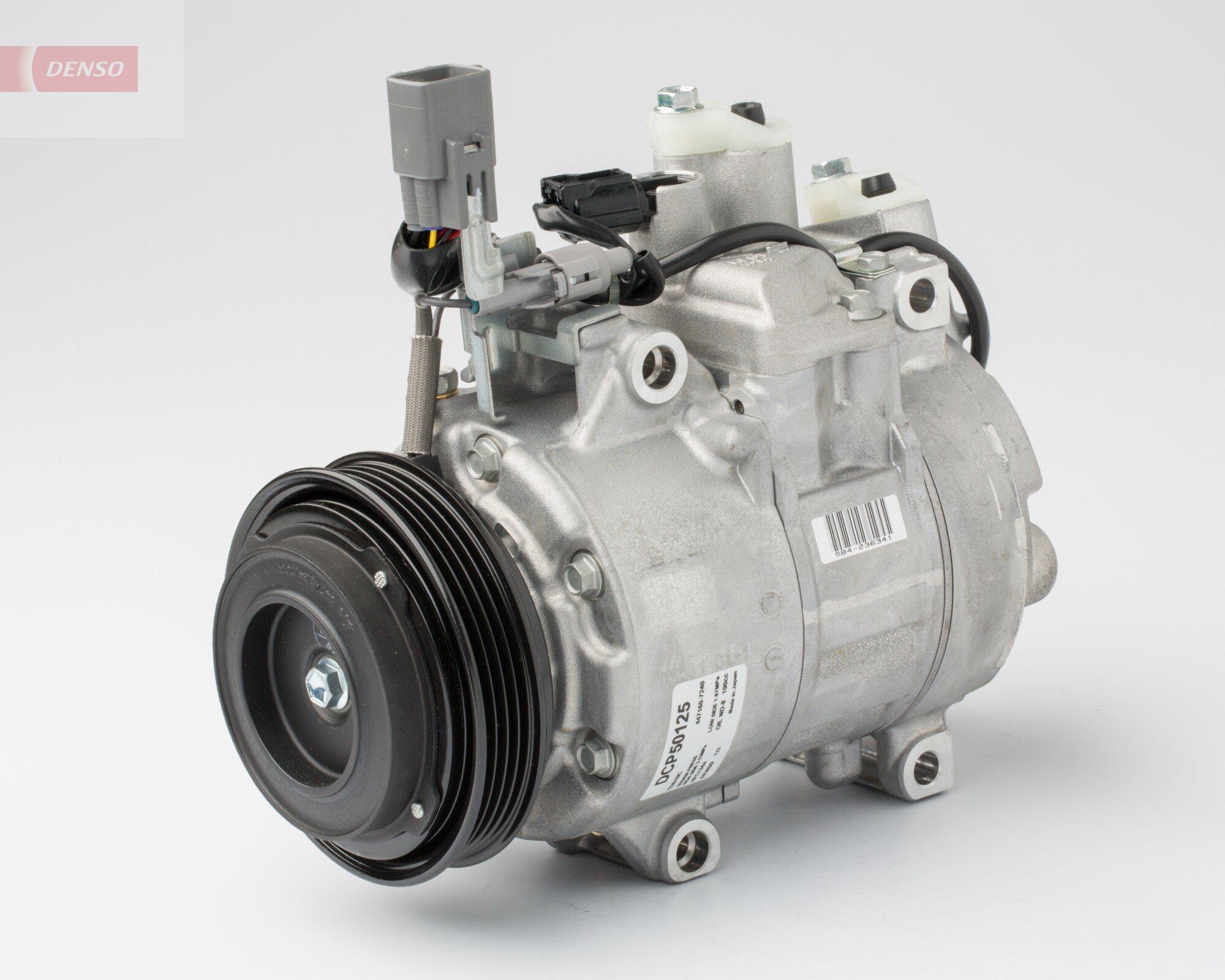 Kompressor, Klimaanlage 12 V DENSO DCP50125