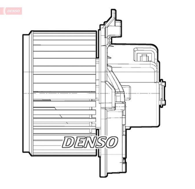 Innenraumgebläse 12 V DENSO DEA09071