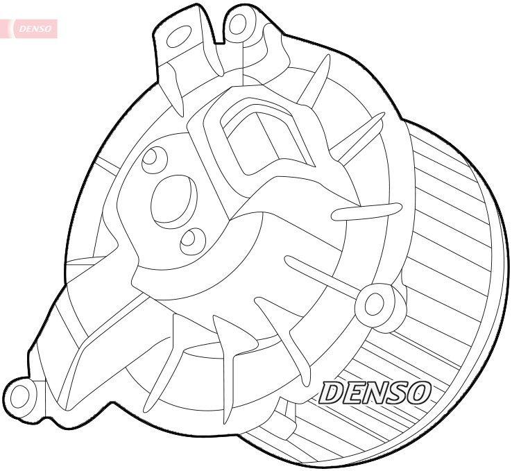 Innenraumgebläse DENSO DEA12003