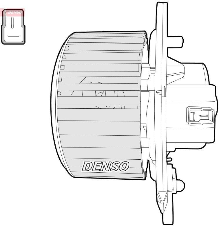 Innenraumgebläse DENSO DEA12004