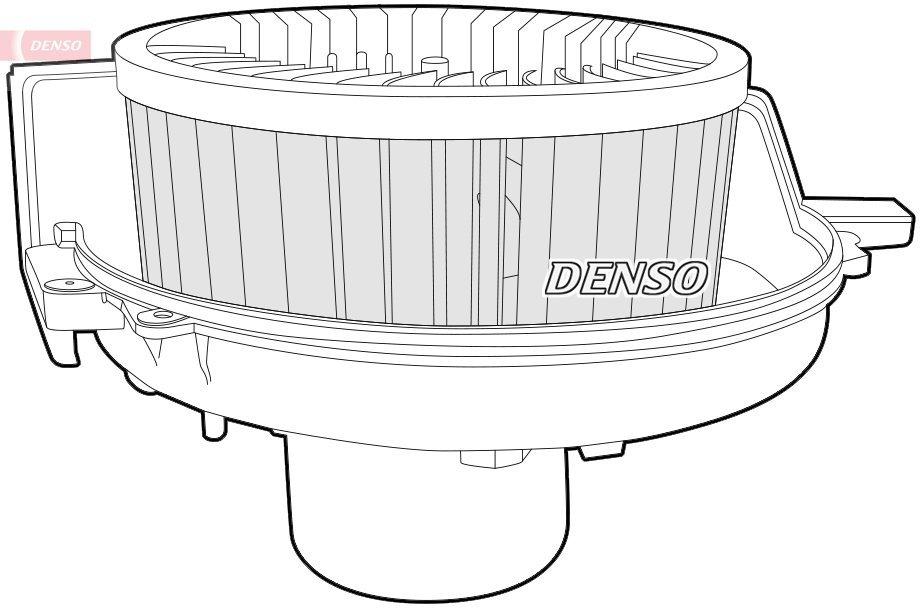 Innenraumgebläse 12 V DENSO DEA27001