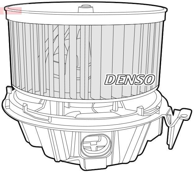 Innenraumgebläse 12 V DENSO DEA37001