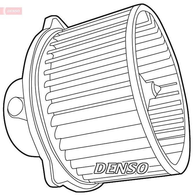 Innenraumgebläse 12 V DENSO DEA41001