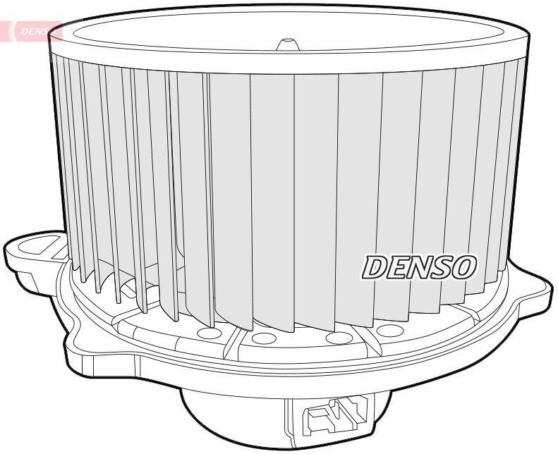 Innenraumgebläse 12 V DENSO DEA41012 Bild 1