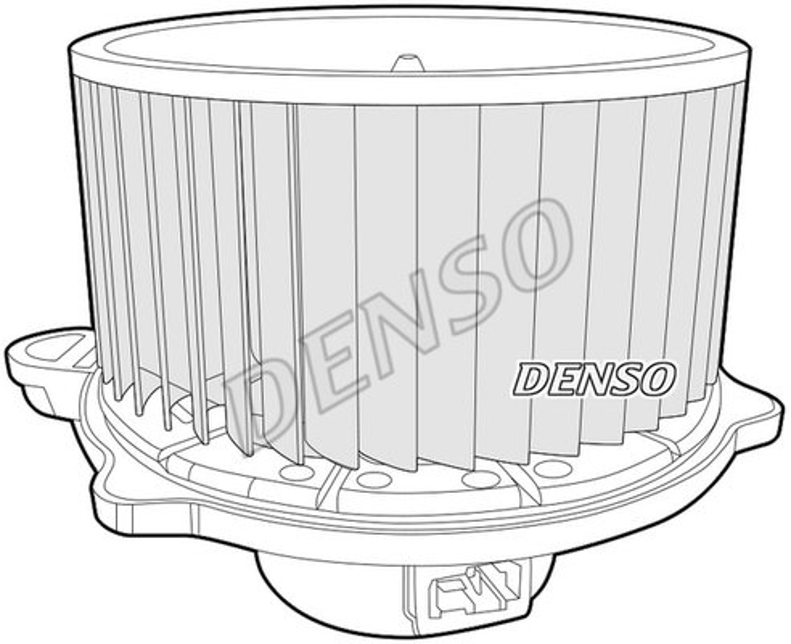 Innenraumgebläse 12 V DENSO DEA41012 Bild 2