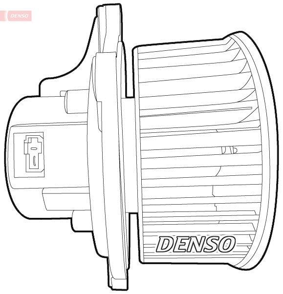 Innenraumgebläse 12 V DENSO DEA43003