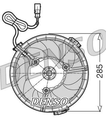 Lüfter, Motorkühlung 12 V DENSO DER02005