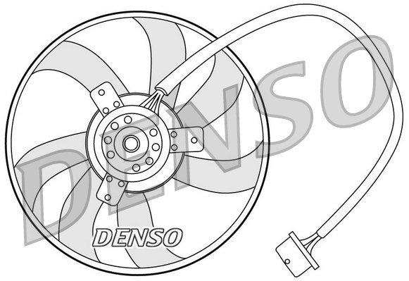 Lüfter, Motorkühlung DENSO DER32003