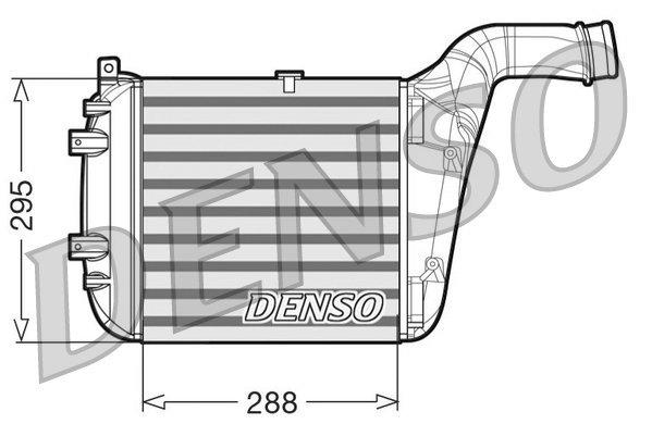 Ladeluftkühler links DENSO DIT02030
