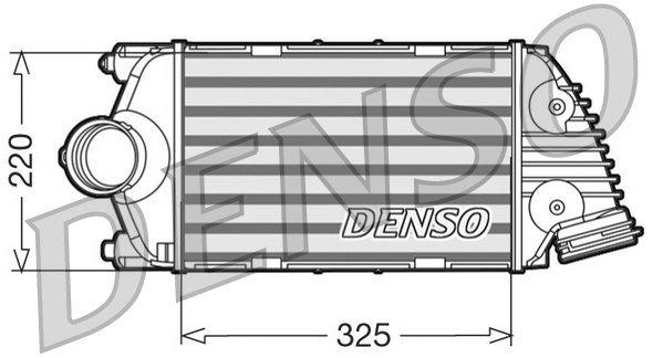 Ladeluftkühler links DENSO DIT28015