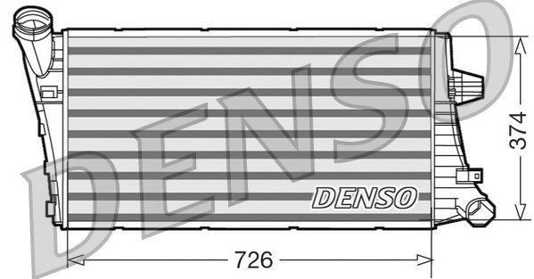 Ladeluftkühler DENSO DIT99020 Bild 1