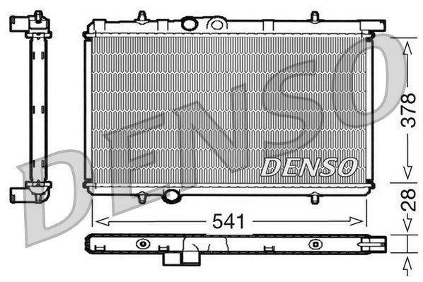 Kühler, Motorkühlung DENSO DRM21021