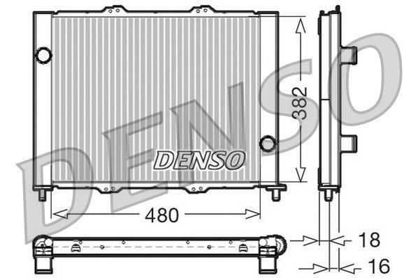 Kühlmodul DENSO DRM23099