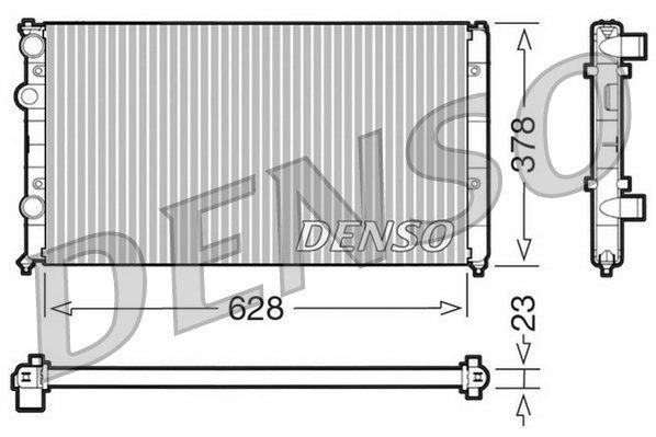 Kühler, Motorkühlung DENSO DRM32035