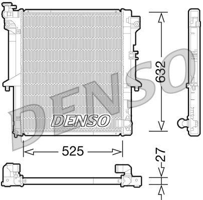 Kühler, Motorkühlung DENSO DRM45034