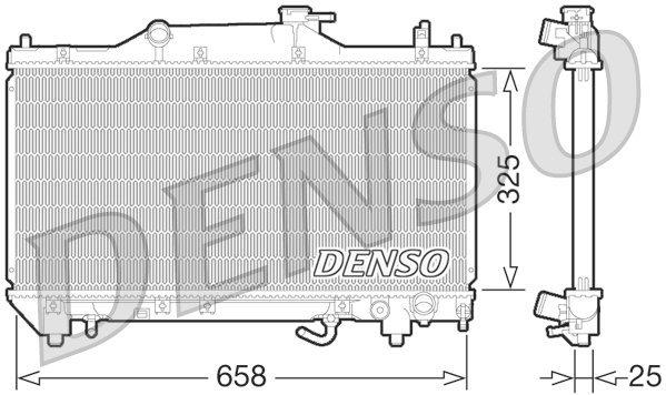 Kühler, Motorkühlung DENSO DRM50067