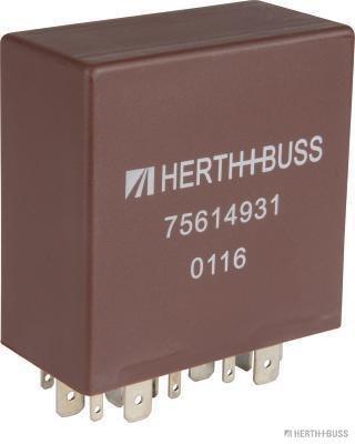 Relais, Wisch-Wasch-Intervall HERTH+BUSS ELPARTS 75614931