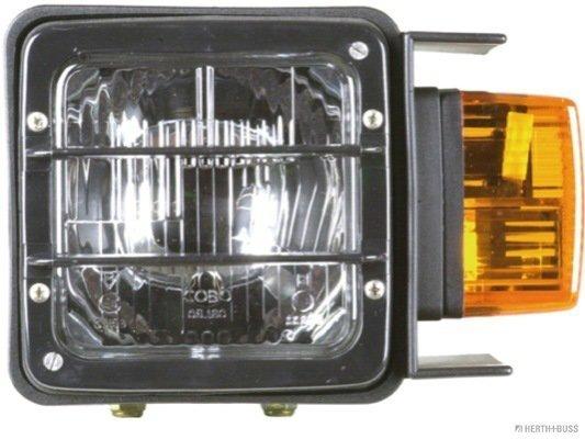 Hauptscheinwerfer 12 V 24 V links HERTH+BUSS ELPARTS 81658043