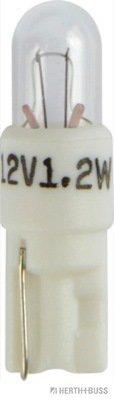 Glühlampe, Instrumentenbeleuchtung 12 V HERTH+BUSS ELPARTS 89901176