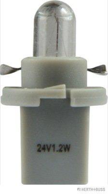 Glühlampe, Instrumentenbeleuchtung 24 V HERTH+BUSS ELPARTS 89901256