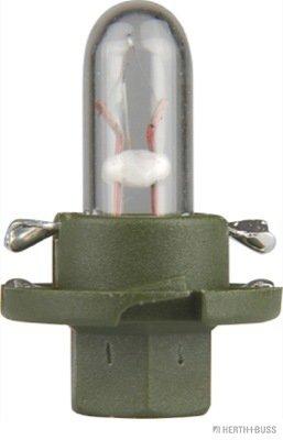 Glühlampe, Instrumentenbeleuchtung 12 V HERTH+BUSS ELPARTS 89901286