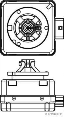 Glühlampe, Fernscheinwerfer 85 V HERTH+BUSS ELPARTS 89901320 Bild 2