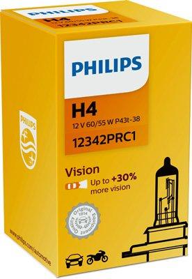 Glühlampe, Fernscheinwerfer 12 V PHILIPS 12342PRC1