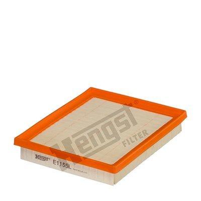 Luftfilter HENGST FILTER E1155L