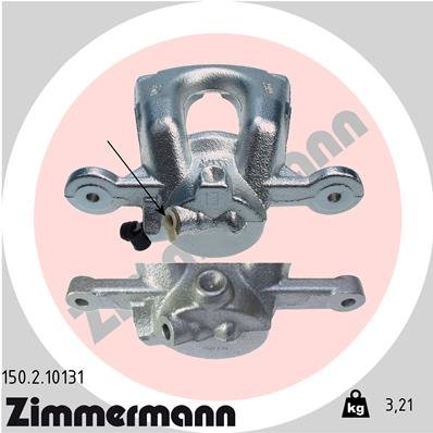 Bremssattel Vorderachse rechts ZIMMERMANN 150.2.10131