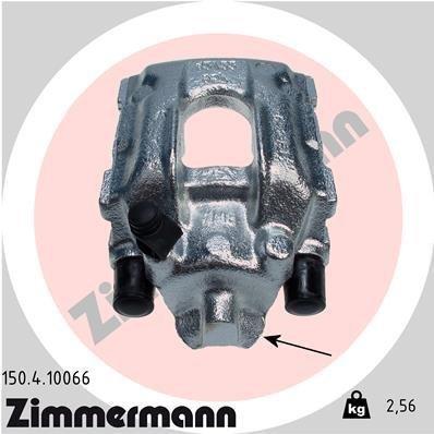 Bremssattel Hinterachse rechts ZIMMERMANN 150.4.10066