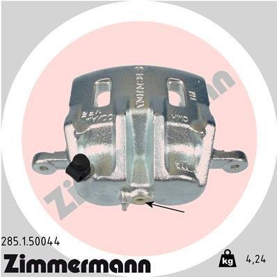 Bremssattel Vorderachse links ZIMMERMANN 285.1.50044